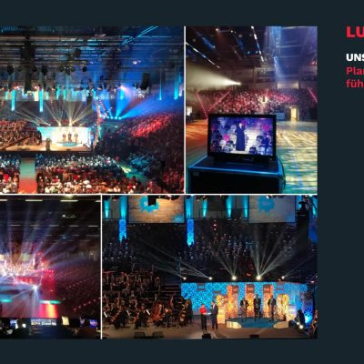 Eventmanagement Luther-Gala, Reformationsfeier in Bonn. Werbeagentur Kreativ Konzept.