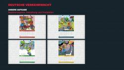 Wandkalender gestaltung für Deutsche Verkehrswacht