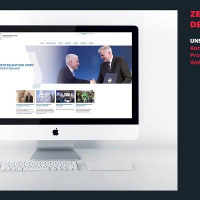 Neuer Internetauftritt für Zentralrat der Juden in Deutschland.