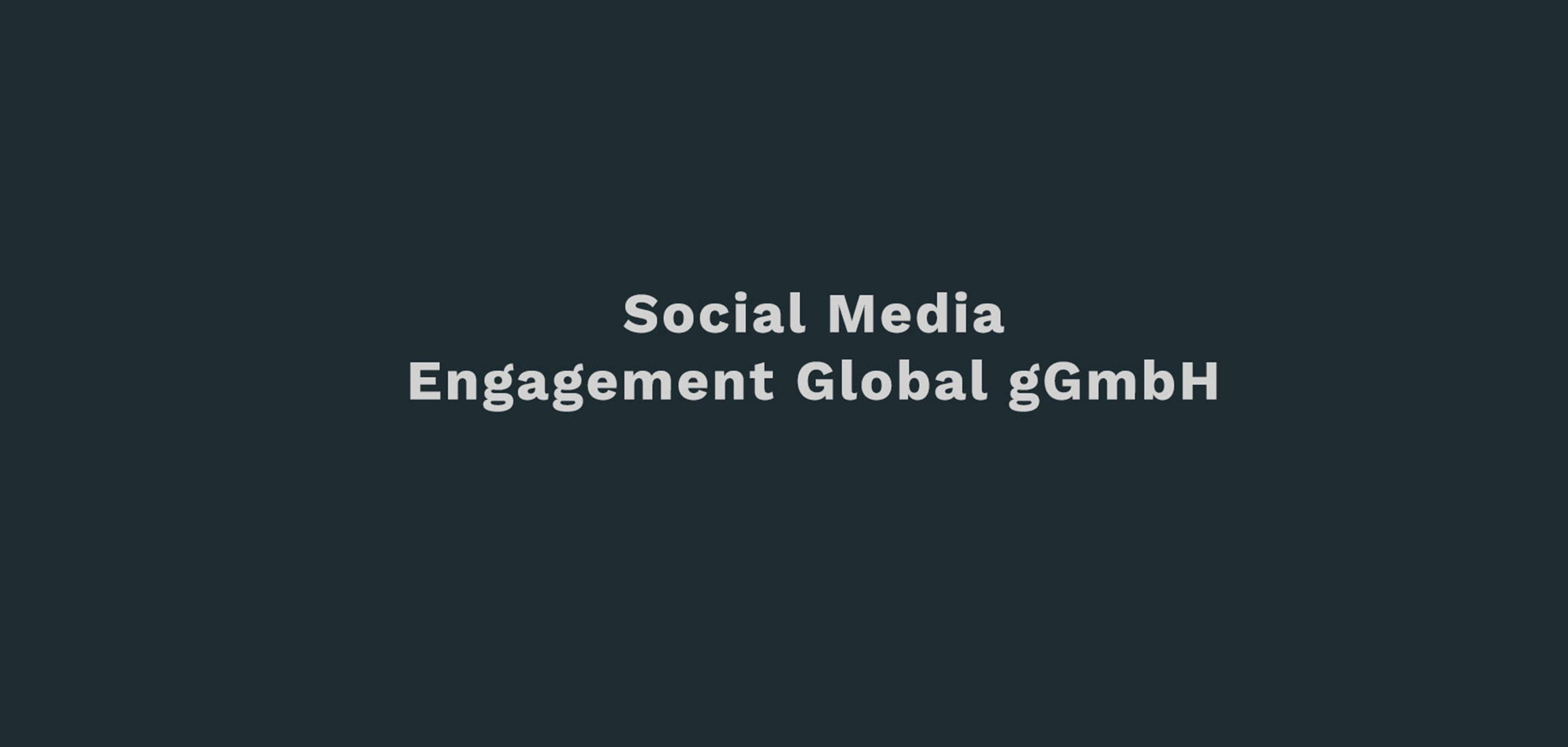 Engagement-Global-gGmbH-DZP-Social-Media