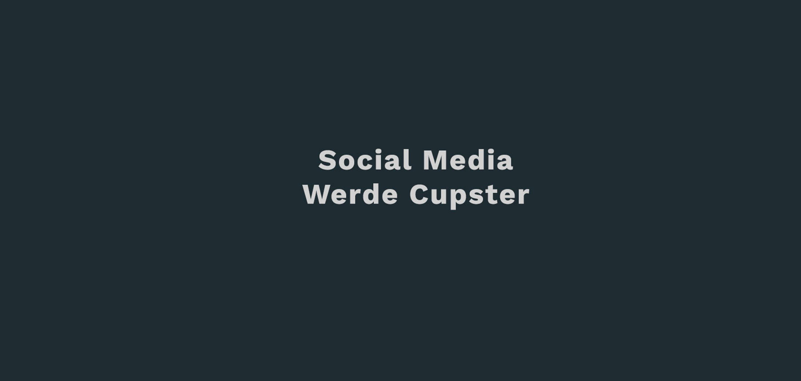 Werde-Cupster-DZP-Social-Media
